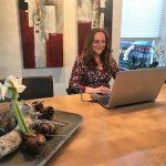 Schoonhovense lerares Duits Violetta presenteert 'Taalstad' aan Griekse collega's