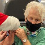 Corrie Nobel krijgt als een van de eerste 90-plussers uit Krimpenerwaard coronavaccin