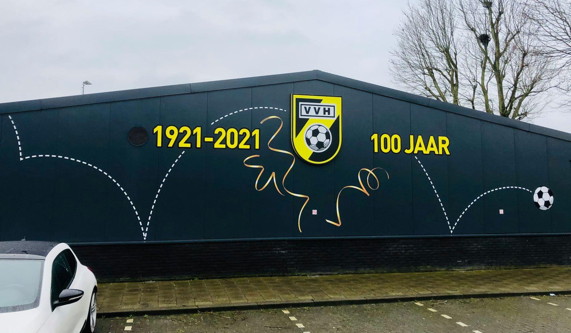Voetbalvereniging Haastrecht bestaat een eeuw