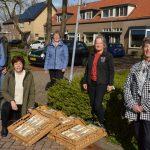 Accordeonata viert jubileum met taart voor alle leden
