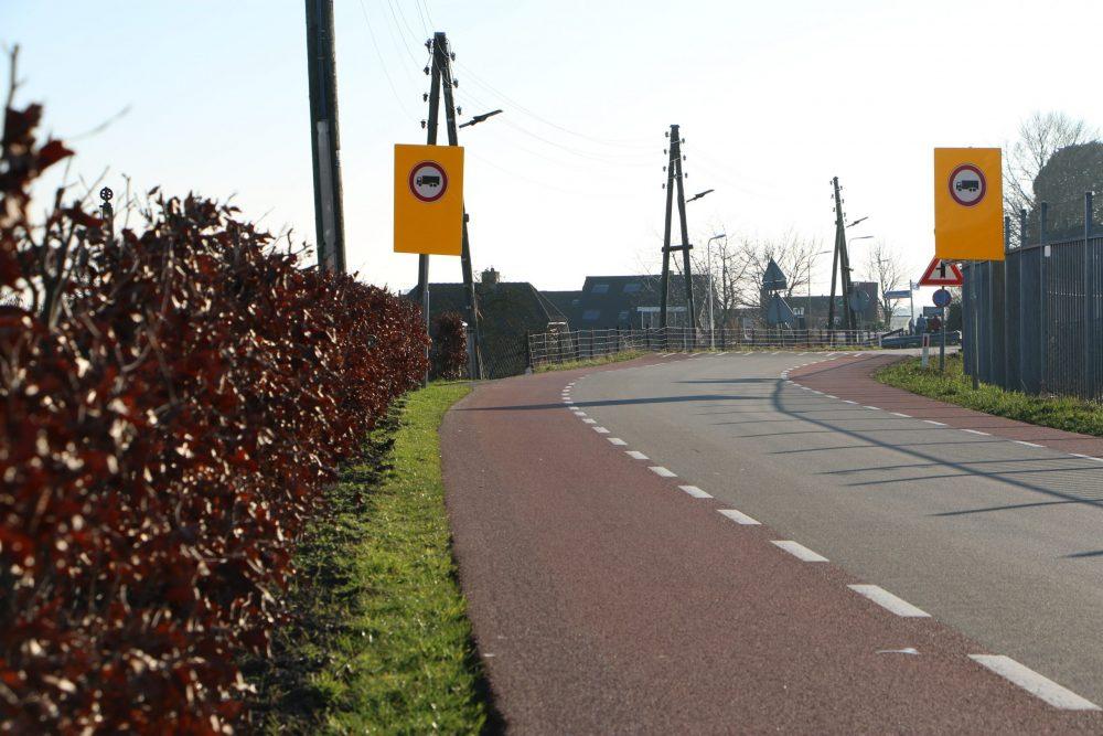 Proef om vrachtverkeer te verminderen op IJsseldijk werkt