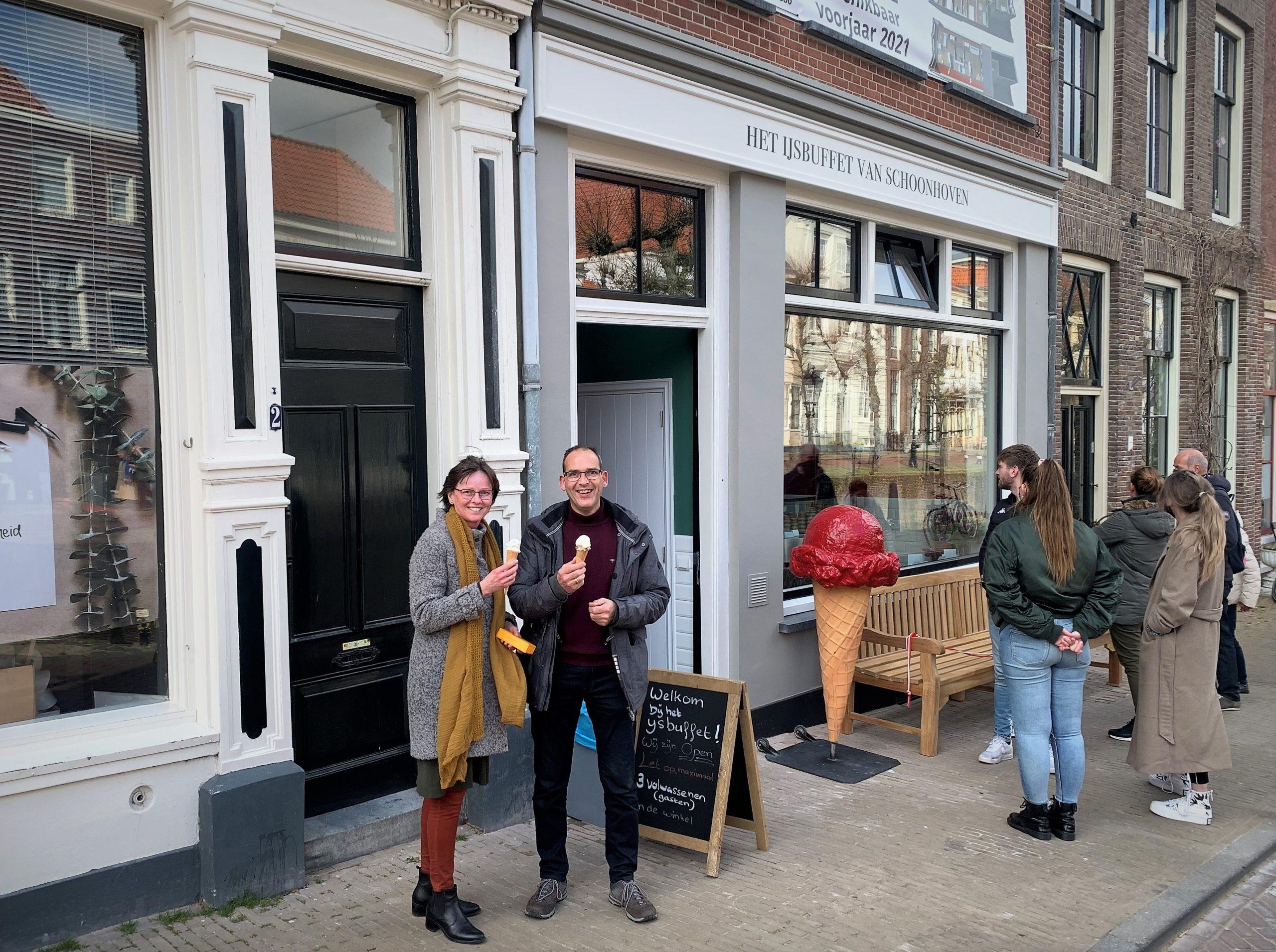 Droomstart voor 'Het IJsbuffet van Schoonhoven'