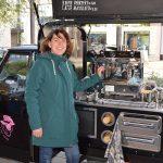 Verse koffie onder de Algerabrug