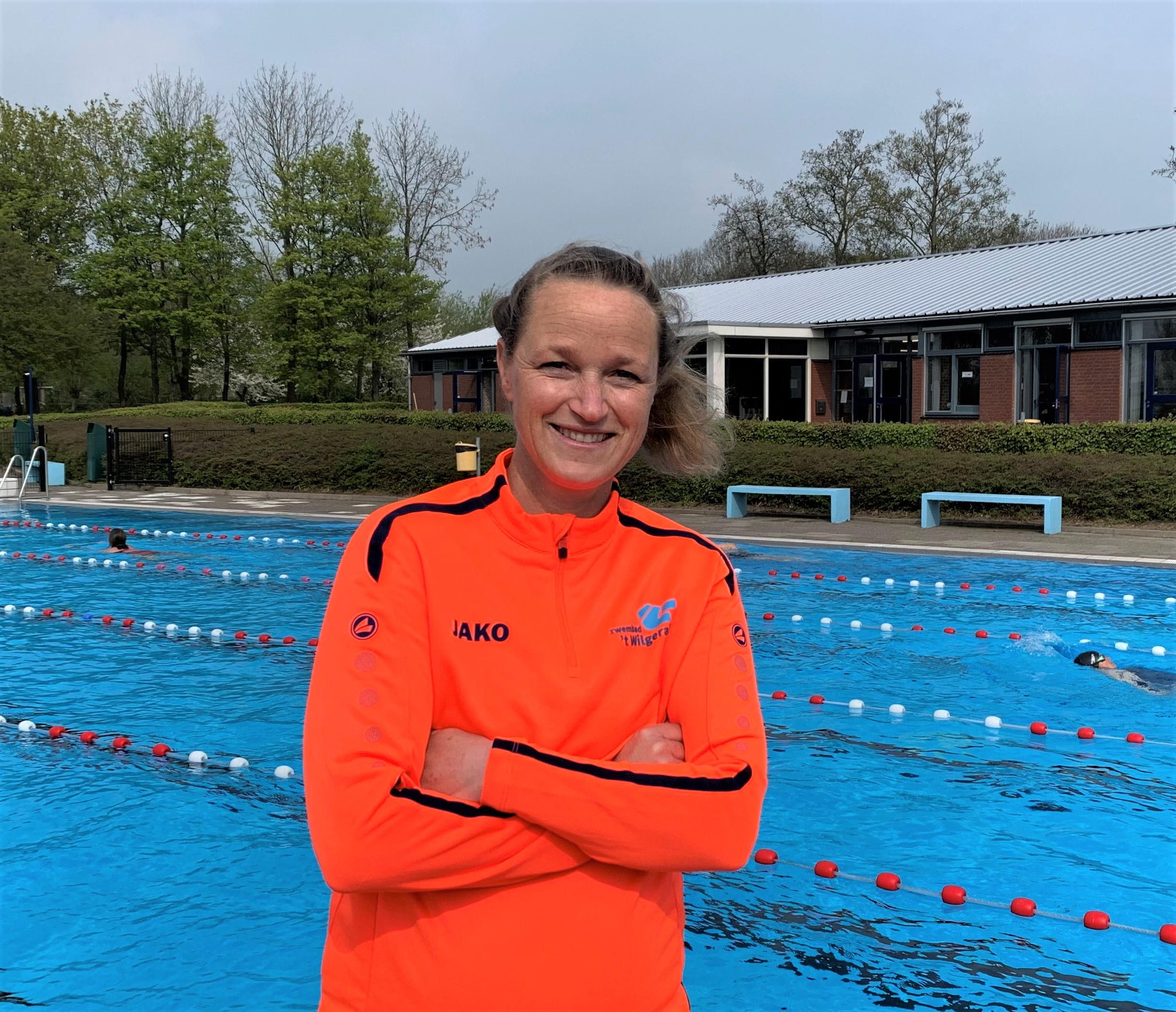 Nieuwe sportieve beheerster zwembad 't Wilgerak Schoonhoven