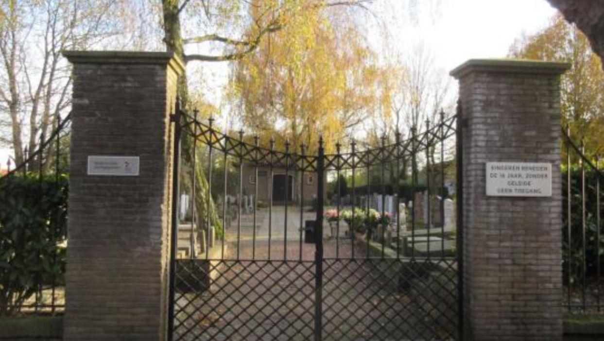 Begraafplaats Gouderak wordt gedenkpark