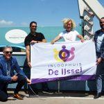 Wethouders fietsen mee voor Inloophuis de IJssel