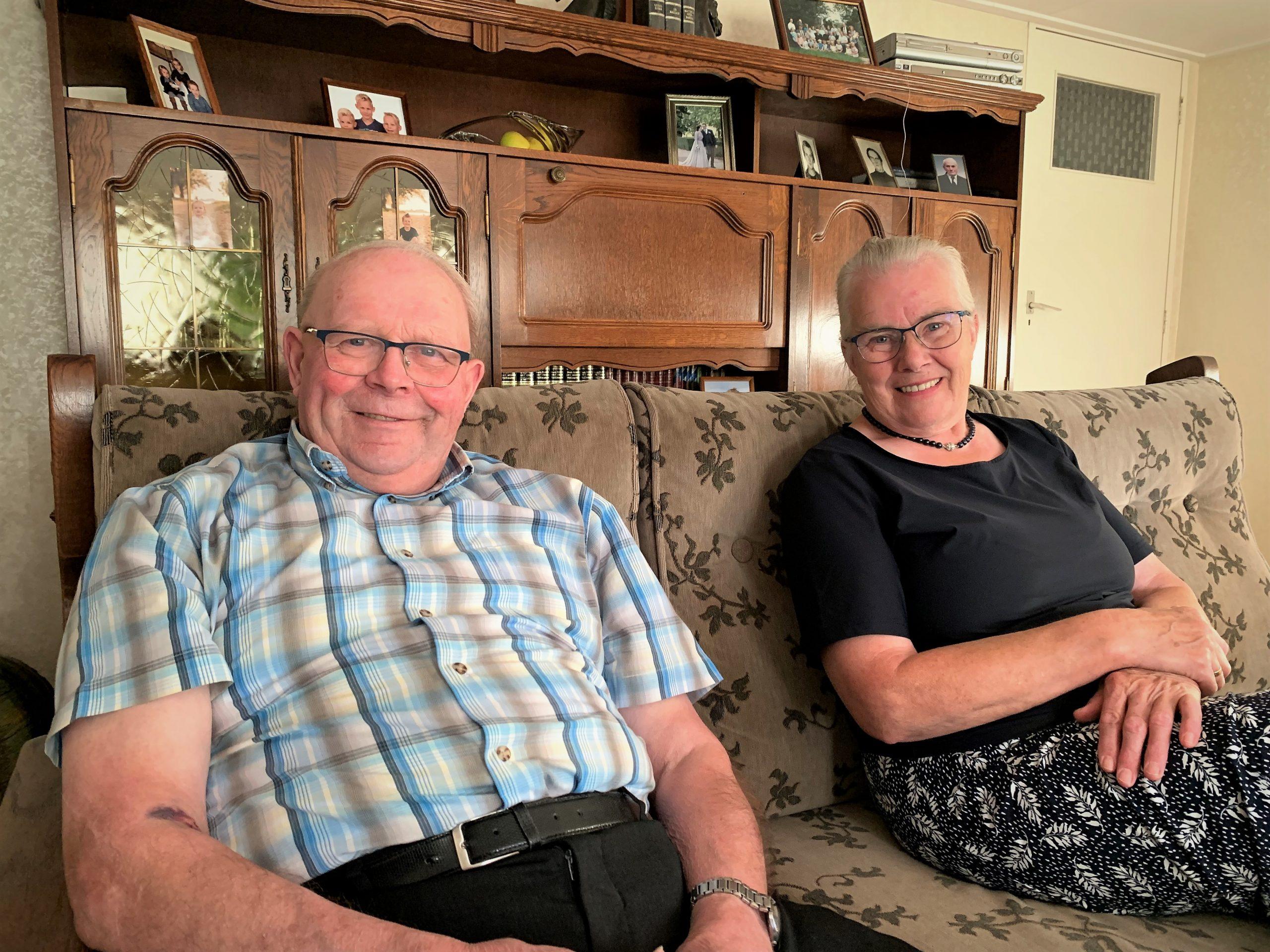 Gijs en Bertha Schouten blijven zitten aan de Tiendweg Schoonhoven