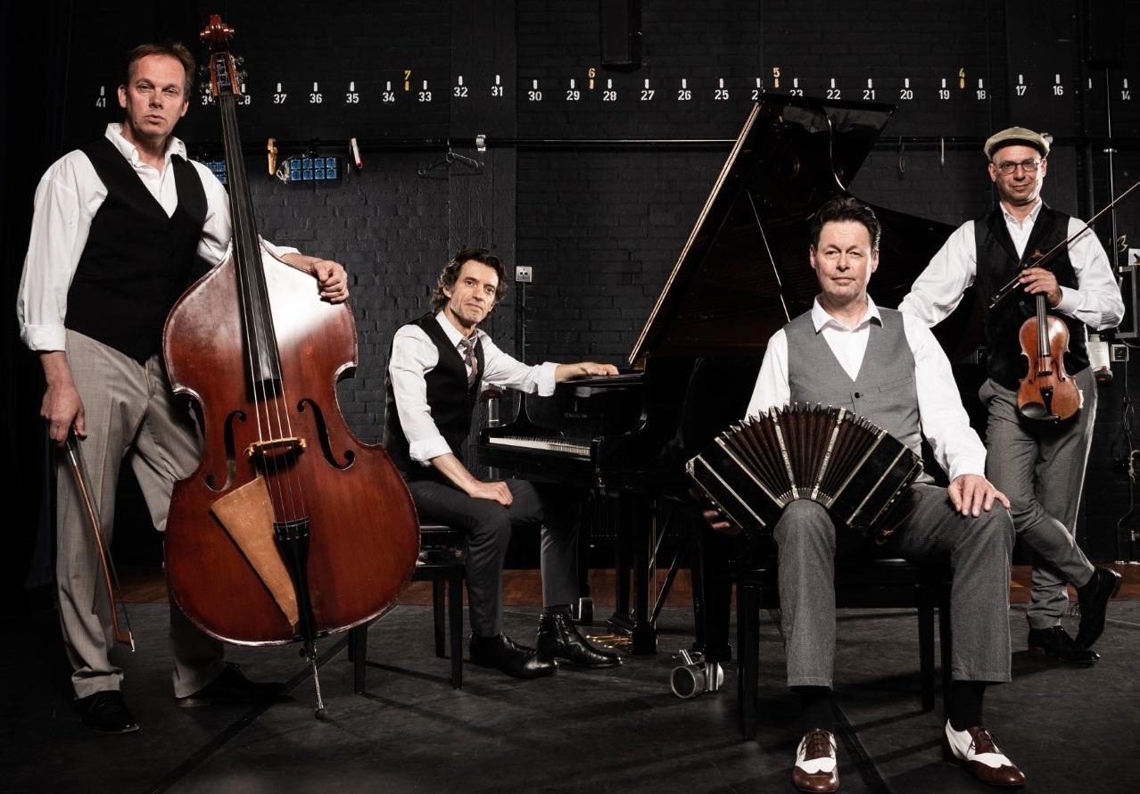Carel Kraayenhof Quartet met '100 jaar Piazolla' in Concordia