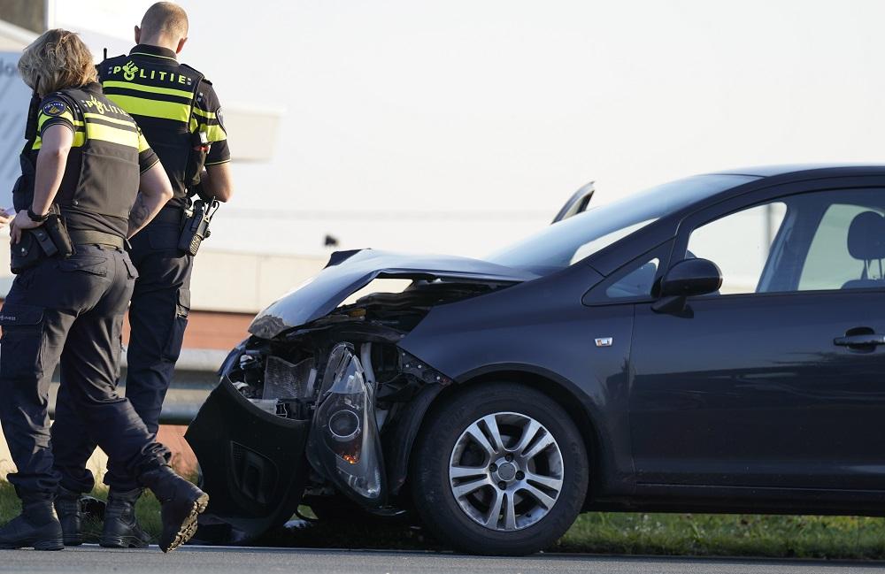Flinke schade bij ongeval op N207 bij Gouderak
