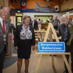 Straat vernoemd naar Theo Bakkers: oud-burgemeester van Ouderkerk