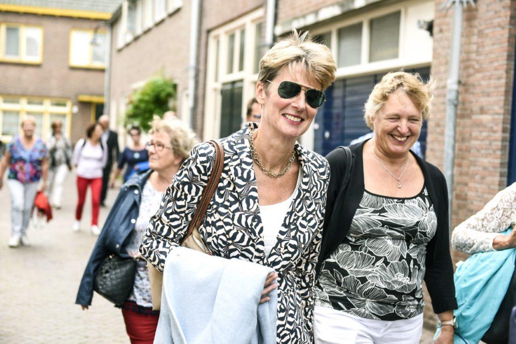 Georganiseerde wandeltochten in Schoonhoven